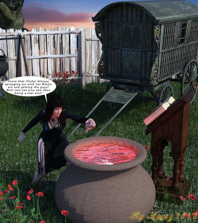 The spell backfire by Amaz2k12
