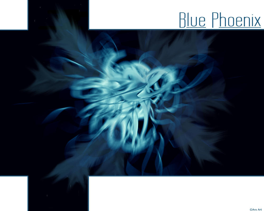 Blue Phoenix by Arolition
