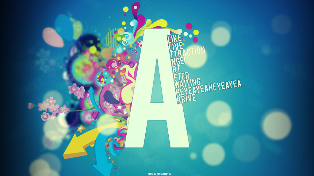 Typography A? by Faith-LV
