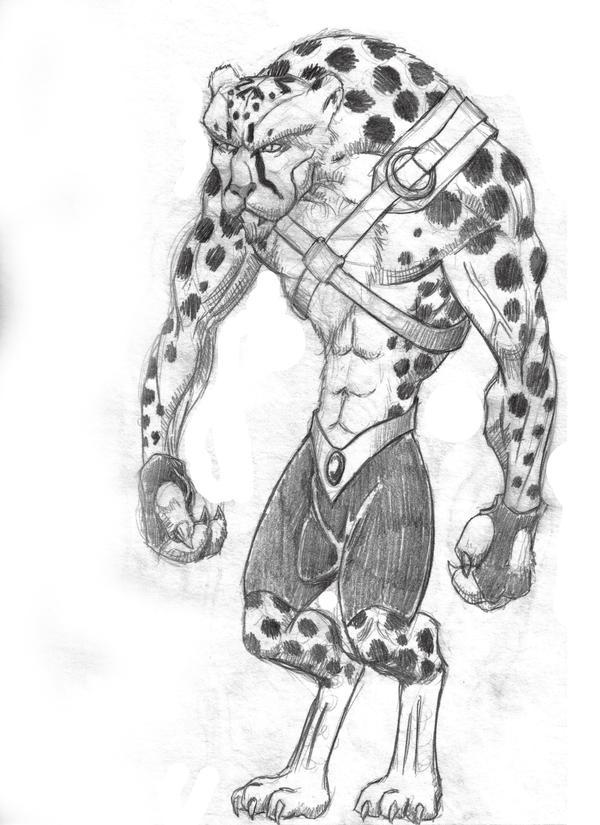 Female Cheetah Warrior