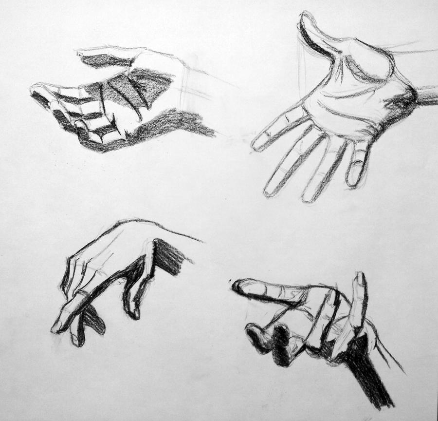 Anatomy Study hands sketch by RichardBlumenstein on DeviantArt