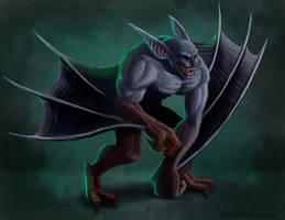 Vampire Lord Bat form by RichardBlumenstein