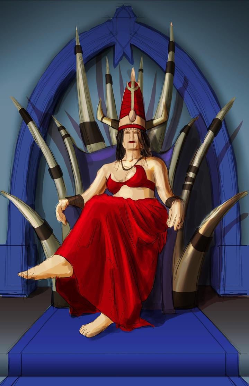 Throneroom 2 WIP by RichardBlumenstein