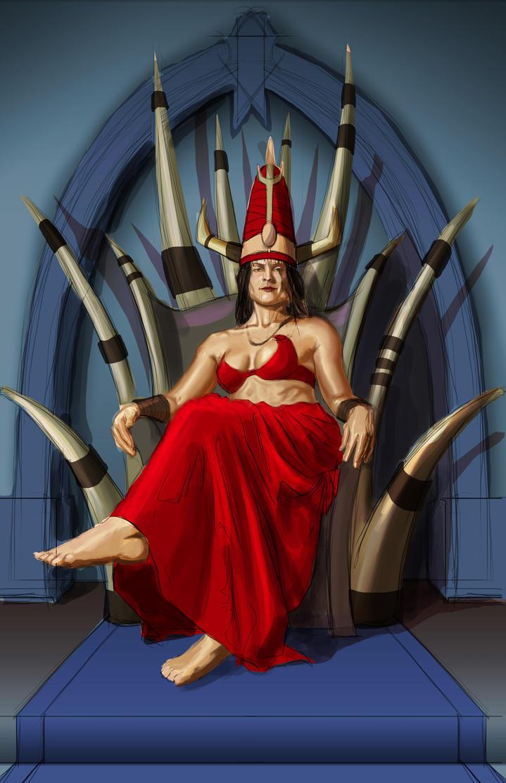 Throne roomWIP3 by RichardBlumenstein