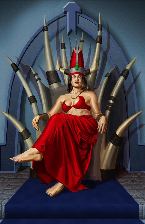 Throneroom 3 WIP by RichardBlumenstein