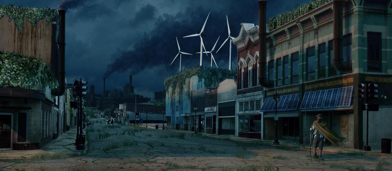 City by RichardBlumenstein