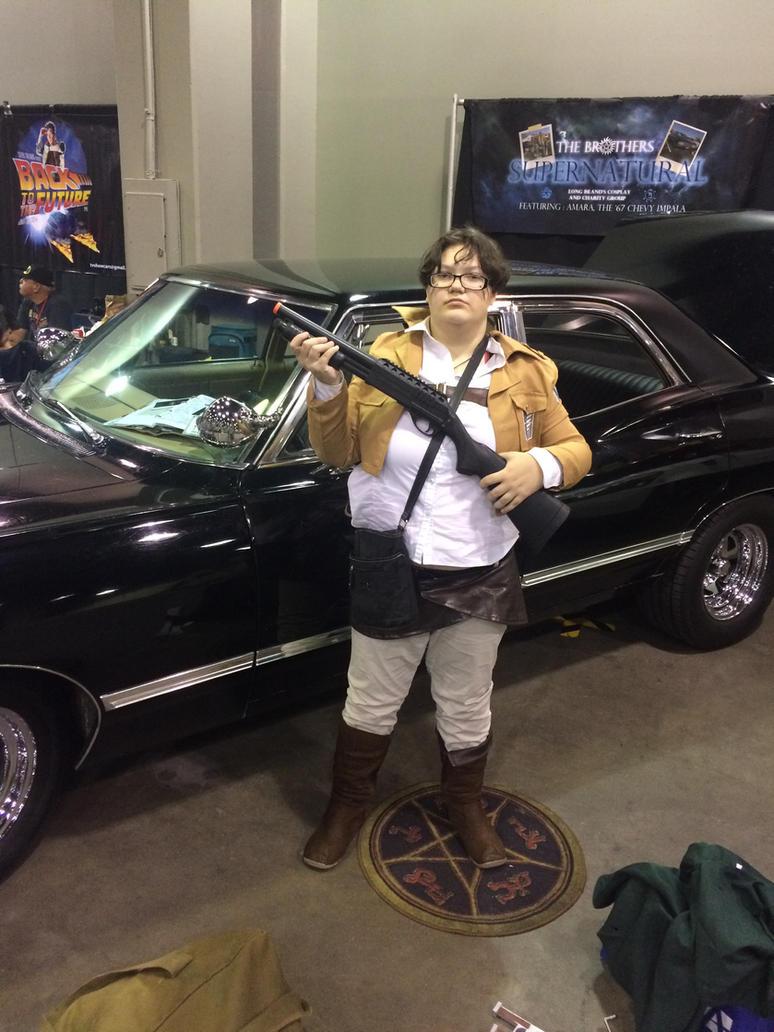 Attack On Supernatural By Eragoncat On DeviantArt - Supernatural show car