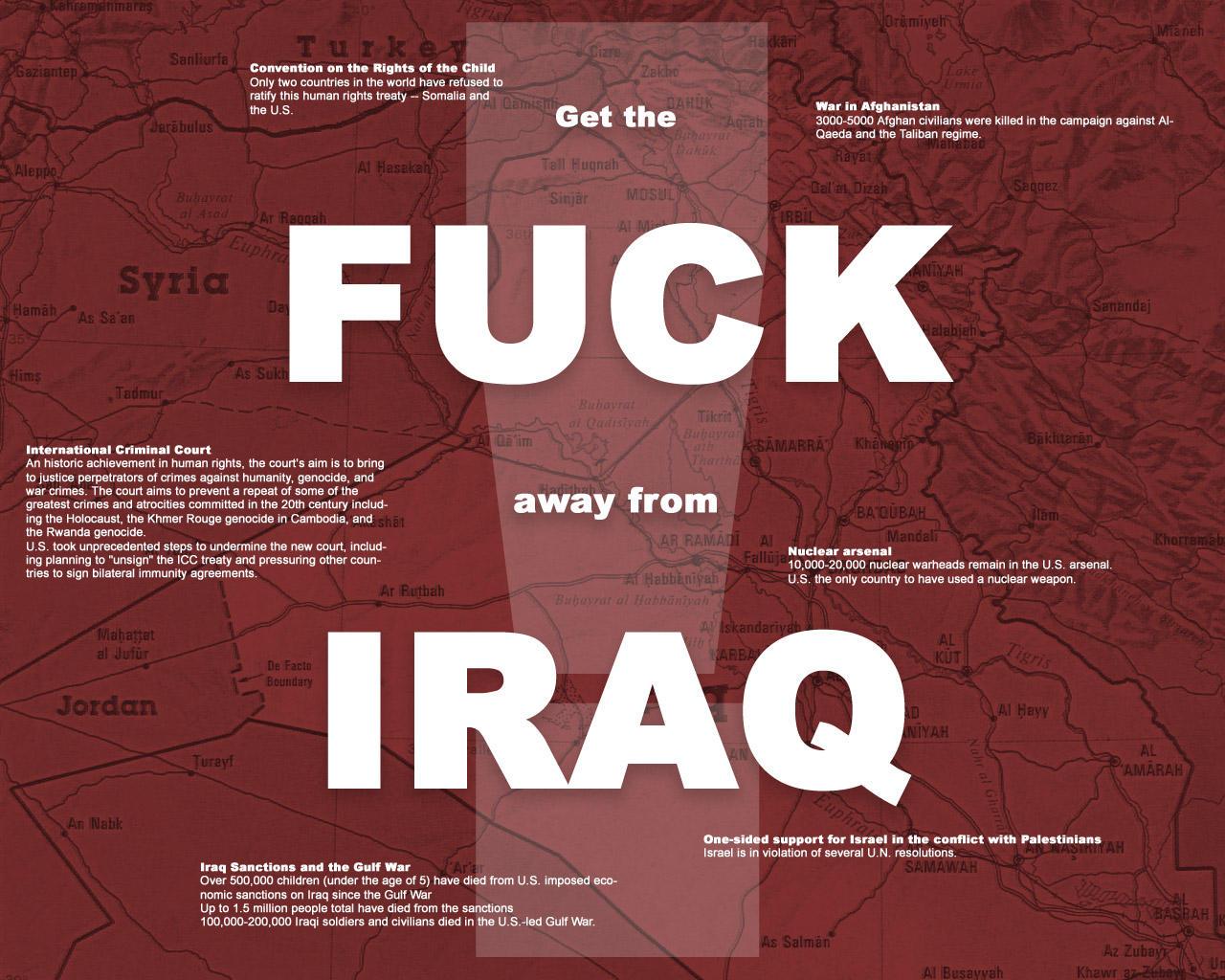Fuck Iraq - It Starts by valis