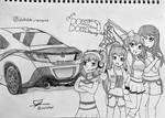 Doki Doki Racing Club, the Official Racing Team. by FusieFusie