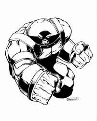 The Unstoppable Juggernaut by Langaw