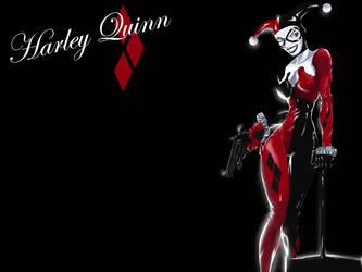 Harley_Quinn_Wallpaper by Langaw