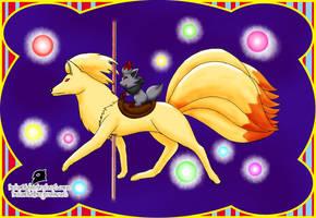 Carrusel Ninetales by Buho01