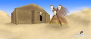 Templo del desierto by Buho01