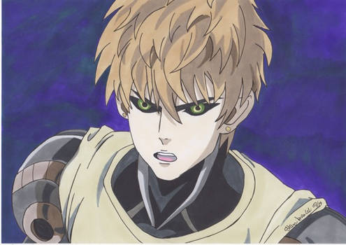 One punch man : Genos