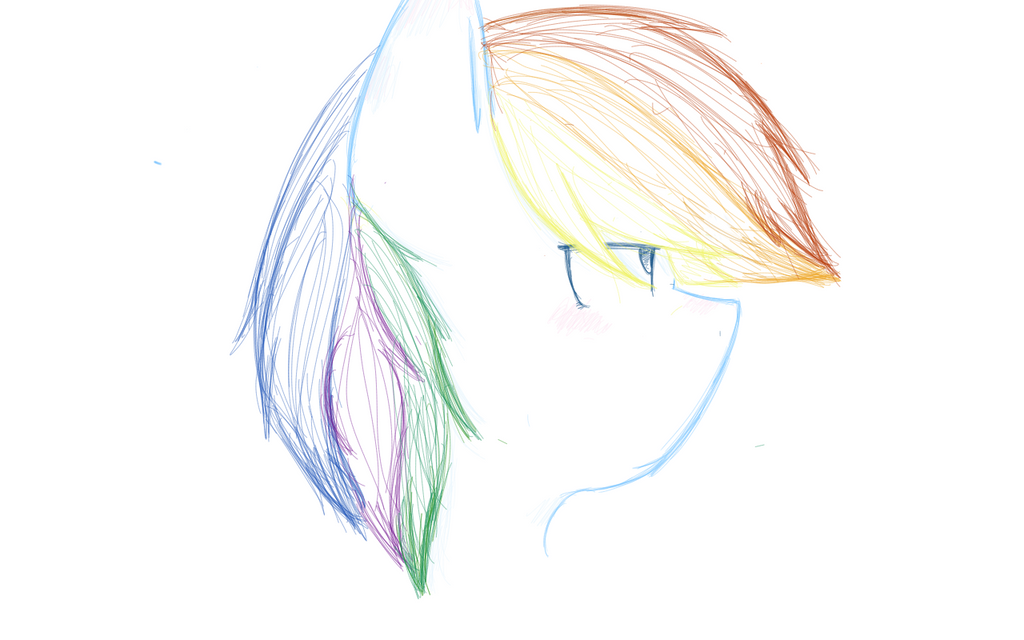 Rainbow dash by quimlox123