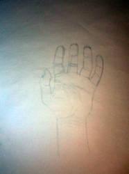 Hand Study by Hawkn93