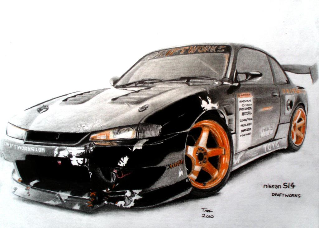 Nissan Silvia S14 Driftworks By TarcDnB ...