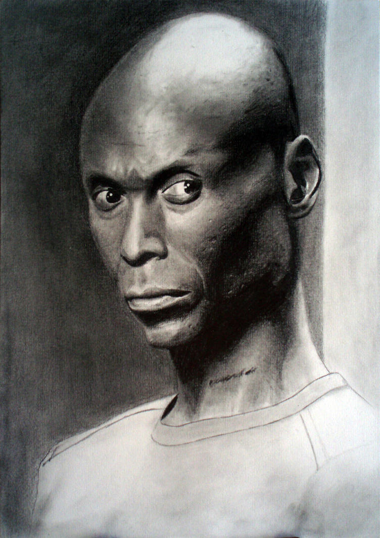 lance reddick the wire