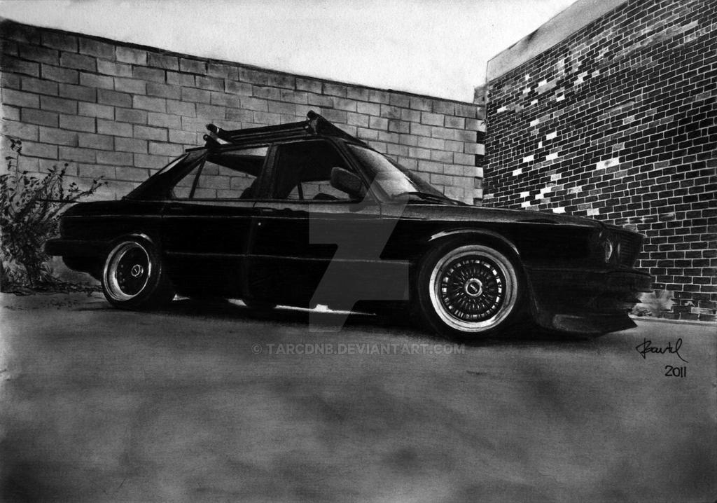 BMW E28 535i 'Rusty' 1989-Graphite by TarcDnB