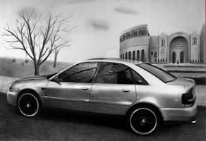 Audi A4 [Graphite][A3]