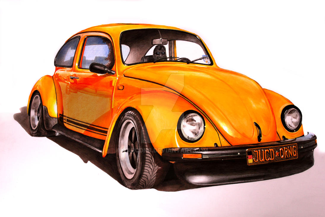 VW Beetle [Markers][A2][commission] by TarcDnB