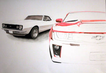 Camaro project, Work in progress by TarcDnB