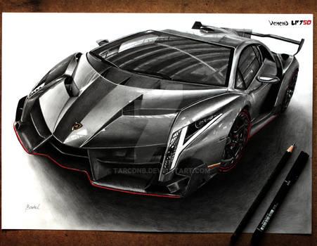 Lamborghini Veneno [Graphite][A3][sold]