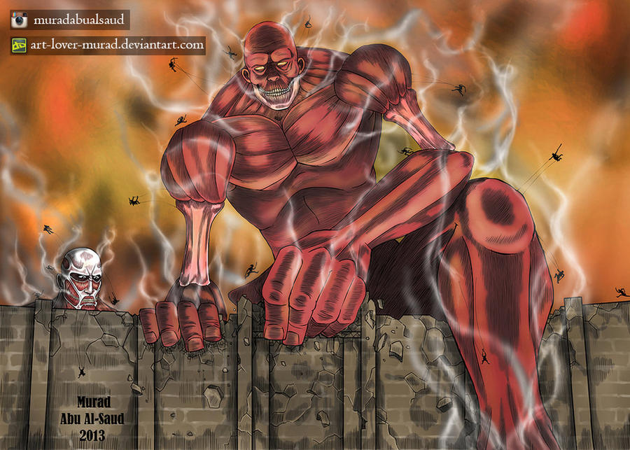 Attack On Titan : What if .................... ? by Art-lover-murad