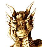 DRAGONHEART-Dracos portrait