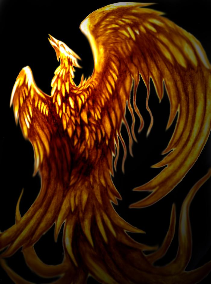 Rising Phoenix by TheLaughingVixen on DeviantArt