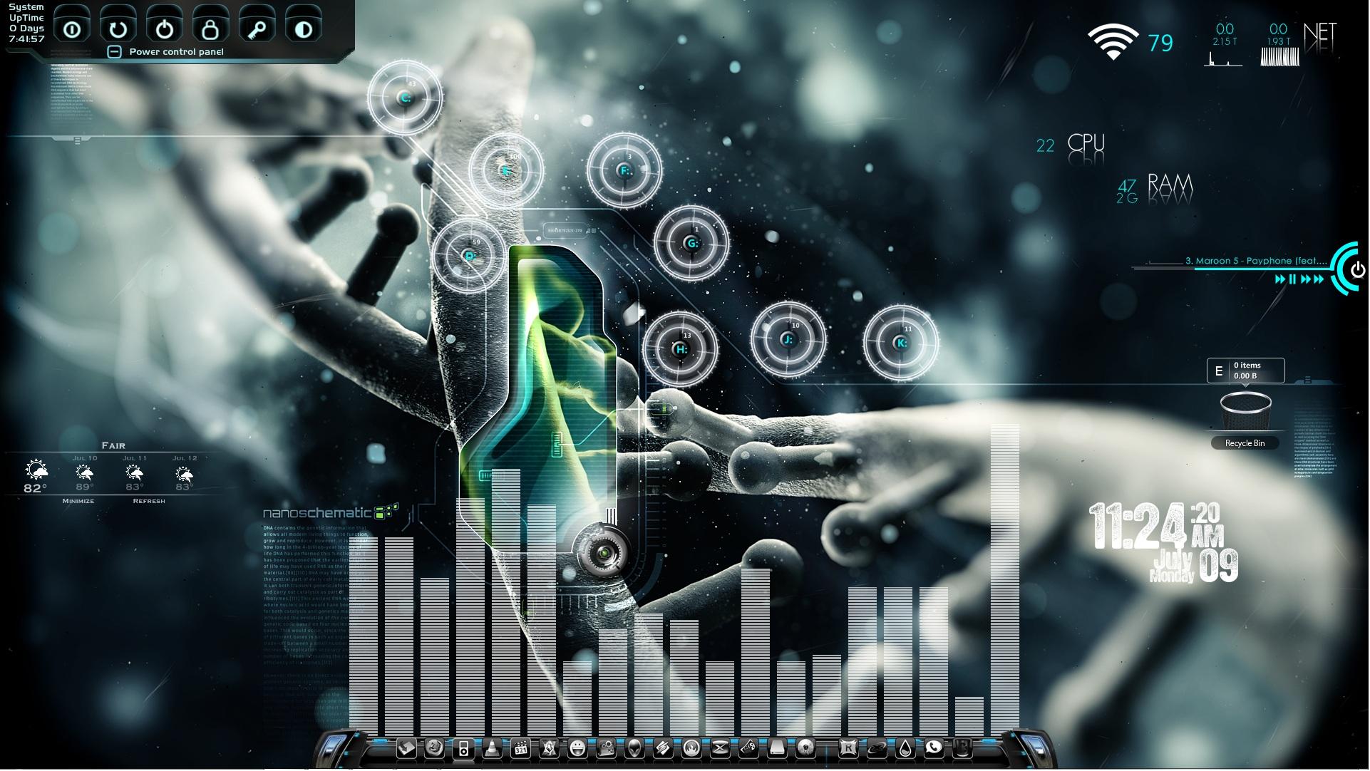 Nanoschematic Desktop
