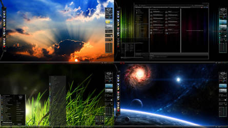 7even 4our 8ight Windows 7 Desktop Theme for Win 7