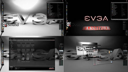 EVGA CLASSIFIED Windows 7 Desktop Theme for Win 7