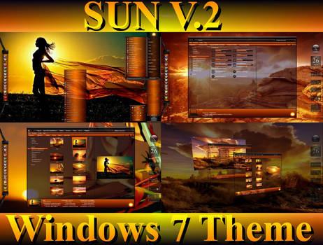 SUN V.2 Desktop Theme for Windows 7
