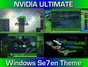 Nvidia Ultimate Desktop Theme for Windows 7