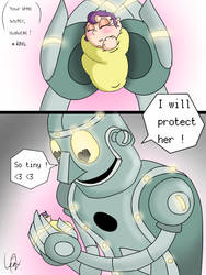 Iron Big bro by Hildagirl