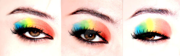 rainbow snowcone by ynocencia