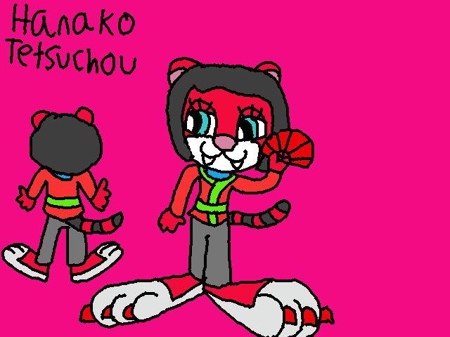 New Hanako Tetsuchou Reference Sheet by Poundpuppiesrock1991