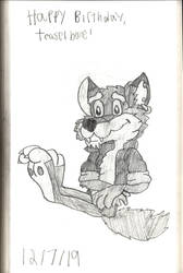 Gift: teaselbone Sketch