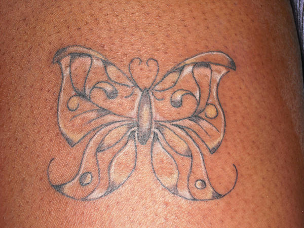 Butterfly tattoo for candace