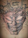 evil jester backpiece, start