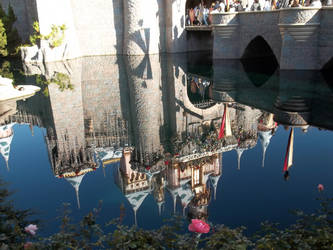 Castle Reflections by BakaBrittany