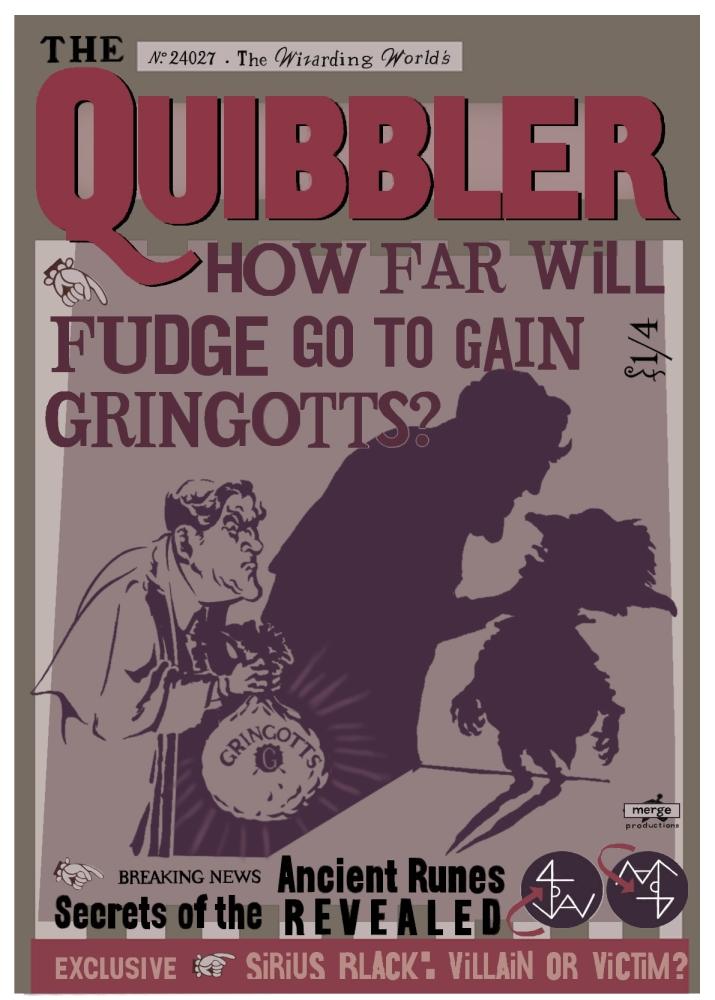Quibbler Cover Harry Potter Quibbler ...