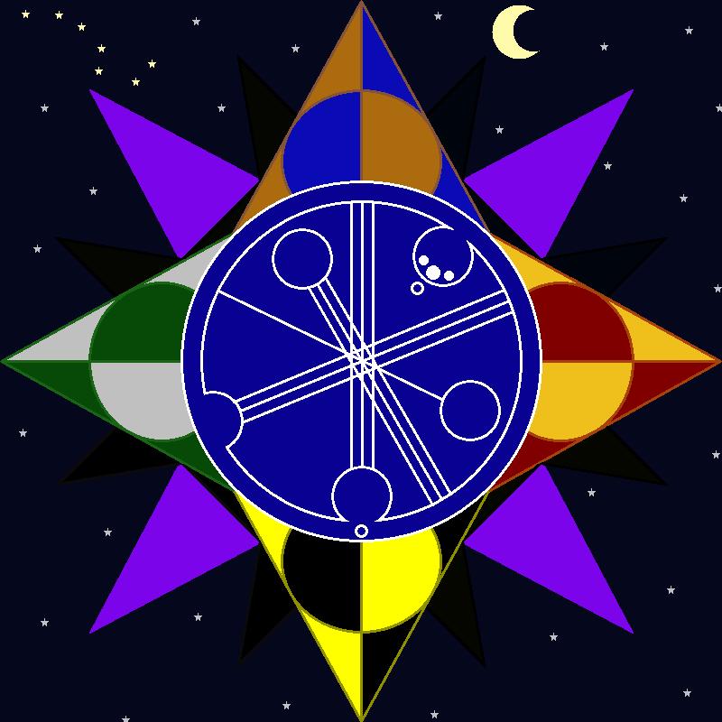 Fandom symbol by Wolf-Wishes-Bluefire