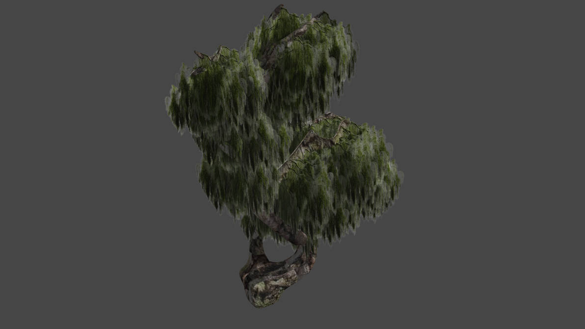 My 3d Weeping Willow