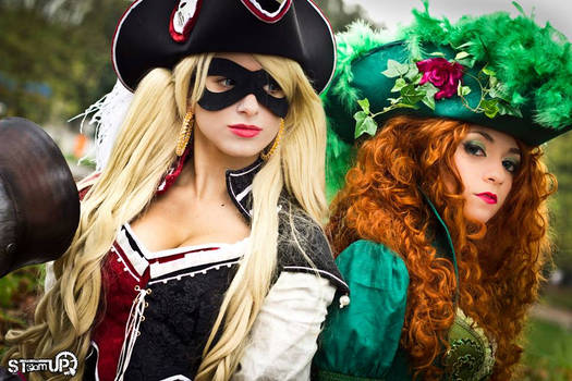 poison and harley pirate version by NoFlutter