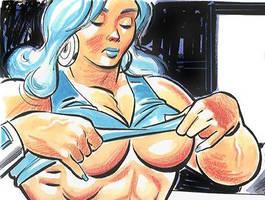 Quadra's Breast-Kept Secret by LymanDally