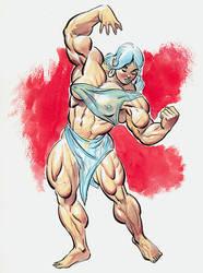 Quadra Strikes a Pose by LymanDally