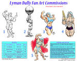Lyman Dally Commission Rates