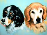 Jasper and Bentley by LymanDally